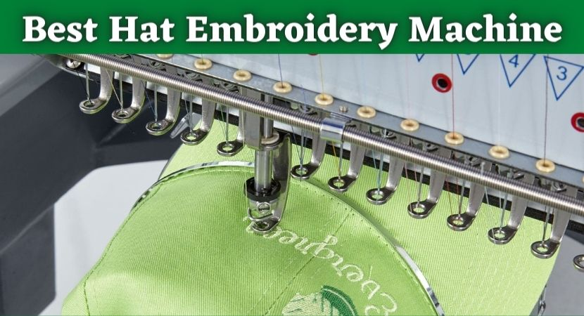 best hat embroidery machine