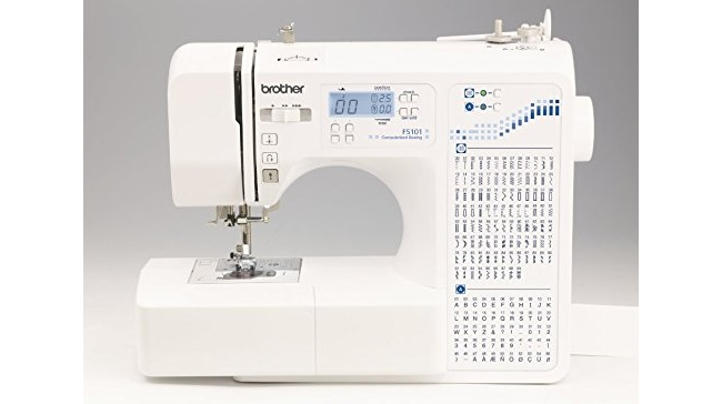 Brother FS 101 Computerised Sewing Machine portable sewing machine