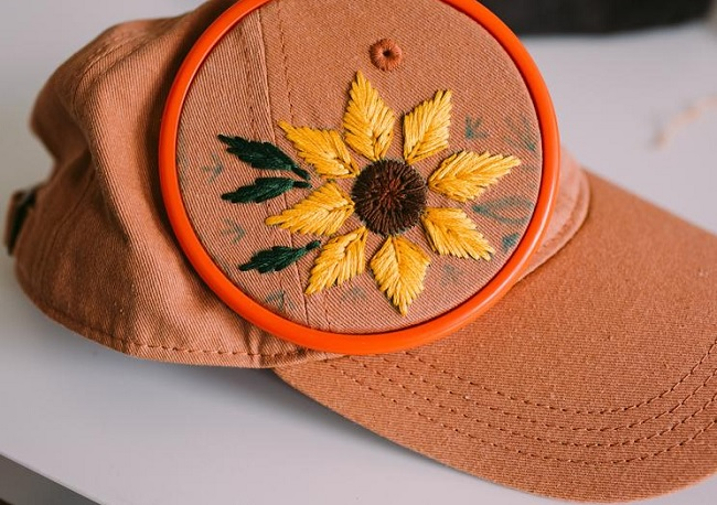 hat embroidery machine